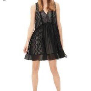 Sandro black swing dress Sandro s